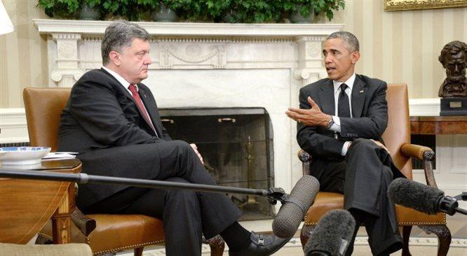 Biały Dom odrzucił postulat Petro Poroszenki o dostawy uzbrojenia dla Ukrainy