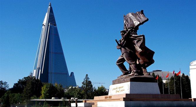 Korea Północna jest jak dekoracja filmowa