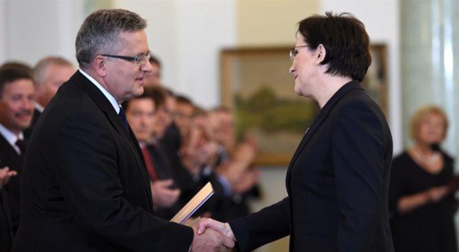 Pierwszy dzień pracy nowego rządu