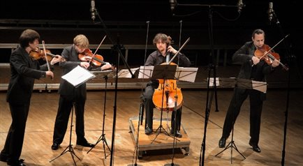 Apollon Musagte Quartett w Five oclock Retransmisja wideo