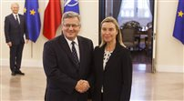 Federica Mogherini z wizytą w Polsce