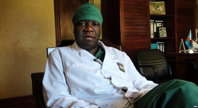 Nagroda Sacharowa dla kongijskiego lekarza