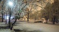 Białe święta w Warszawie