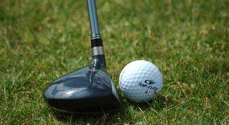 Niewidomy golfista