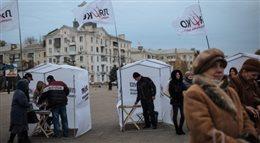 Wybory na Ukrainie. Atmosfera jest bardzo nerwowa