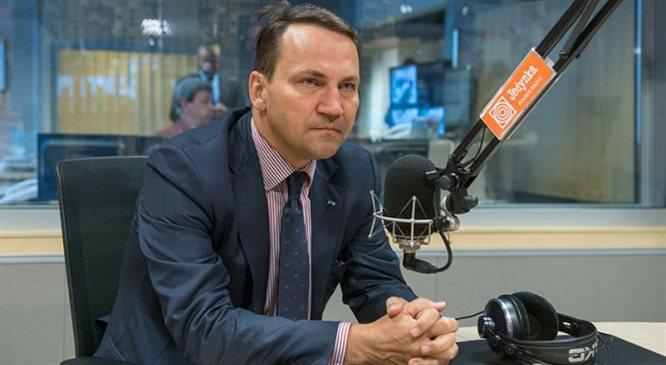 Radosław Sikorski: potrzebna jest nam rewizja stosunków z Rosją