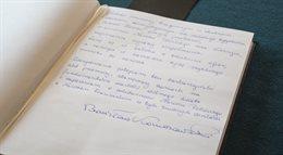 Prezydent złożył wpis do księgi kondolencyjnej w ambasadzie Francji