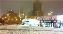 Warszawa pokryła się białym puchem