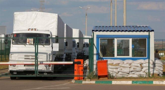 Rosyjski biały konwój przekroczył granicę ukraińską. Szef SBU: to jawna agresja