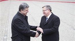 Prezydent Ukrainy Petro Poroszenko z wizytą w Polsce