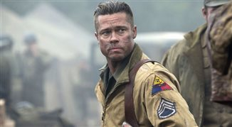 Brad Pitt na wojennej ścieżce z hitlerowcami