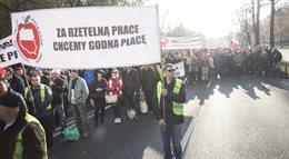 Sadownicy protestowali w Warszawie