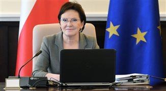 Expos premier Ewy Kopacz. Transmisja w radiowej Jedynce
