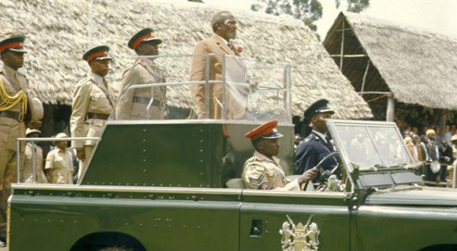 Jomo Kenyatta  ojciec niepodległej Kenii