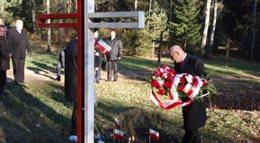 Wiceminister Orłowski odwiedził Kuropaty, miejsce masowych stalinowskich zbrodni
