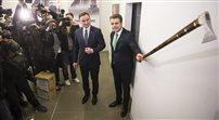 Andrzej Duda otworzył muzeum wpadek Bronisława Komorowskiego