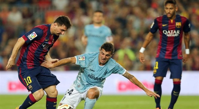 Primera Division: świetni Krychowiak i Wilk, Messi blisko rekordu