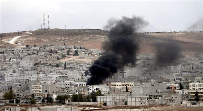 Amerykanie zrzucili broń Kurdom w Kobani. Turcja przeciwna