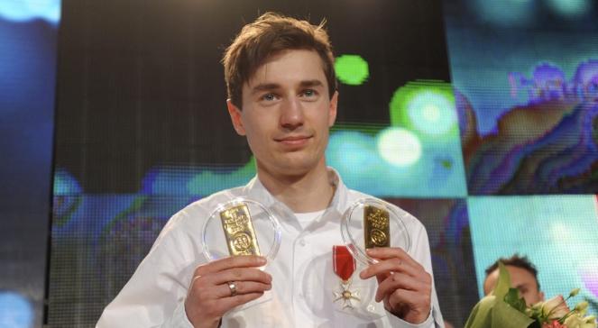 Stoch, Kowalczyk i Bródka otrzymali od Kulczyka półkilogramowe sztabki złota