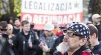 Manifestacja w sprawie legalizacji marihuany do celów medycznych