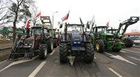 Rolnicy blokują drogę pod Warszawą