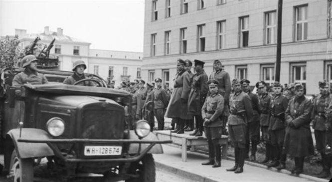 Parada wojsk Wehrmachtu i Armii Czerwonej
