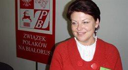 Białoruś: Andżelika Borys wezwana na przesłuchanie. Władze chcą dowieść, że Związek Polaków działa nielegalnie