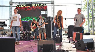 Grupa Sielska na scenie Czwórki