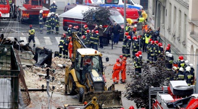 Wybuch gazu w kamienicy w centrum Katowic: są ranni. Los trzech osób jest nieznany