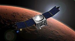 MAVEN już nad Marsem