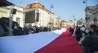 Złożenie wieńców pod pałacem prezydenckim w 5 rocznicę katastrofy TU-154M