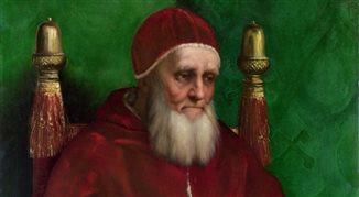Wstydliwa broda papieża