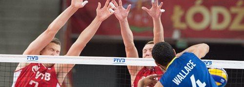 MŚ siatkarzy: Brazylia - Rosja 3:0. Polacy muszą poczekać na awans