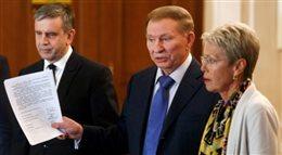 Rozmowy o Ukrainie w Mińsku