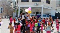 Najmłodsi cieszą się z rozejmu w Gazie