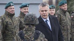 Świąteczne spotkanie ministra Tomasza Siemoniaka z żołnierzami