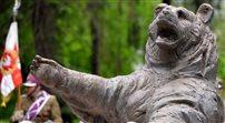 W Edynburgu hołd dla niedźwiedzia Wojtka - towarzysza żołnierzy armii Andersa