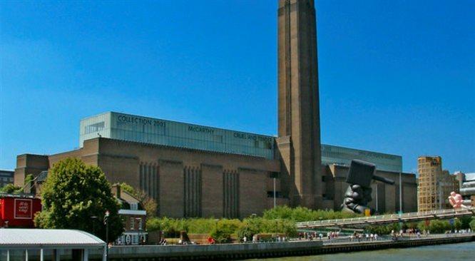 Tate Modern - sztuka pod napięciem