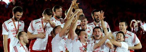 MŚ siatkarzy: Polska - Brazylia 3:1 Biało-czerwoni najlepsi na świecie