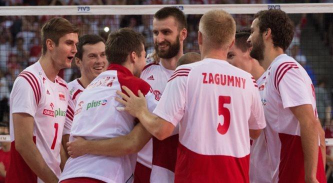 MŚ siatkarzy: cały mecz Polska - Brazylia w Polskie Radio 24