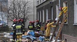 Wybuch gazu w kamienicy w Warszawie