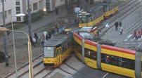 Warszawa: kolejna kolizja tramwajów. Tym razem na Pradze