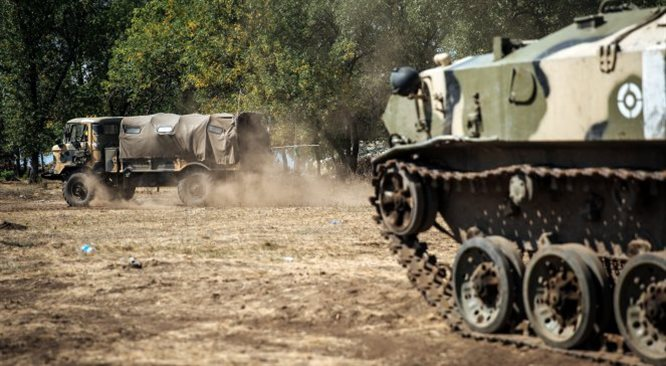 Rosjanie i separatyści zajęli lotnisko w Ługańsku. Siły ukraińskie musiały ustąpić