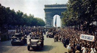 Paryż walczący, Paryż kolaborujący