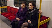 Premier Kopacz odwiedziła II linię metra