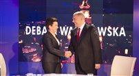 Debata przedwyborcza: Gronkiewicz-Waltz kontra Sasin