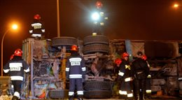 Akcja Znicz: w pierwszym dniu 71 wypadków. Zginęło osiem osób