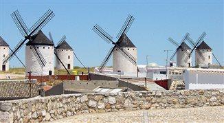 La Mancha - kraina napędzana wiatrem