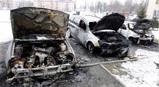 Seria nocnych podpaleń samochodów w Rudzie Śląskiej. Paliło się 13 pojazdów