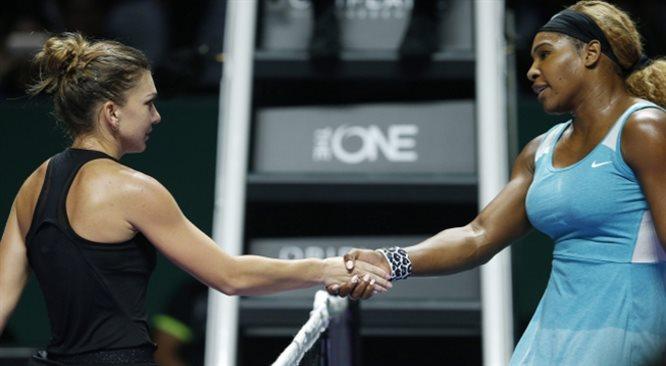 WTA Finals: Simona Halep lepsza od Sereny Williams